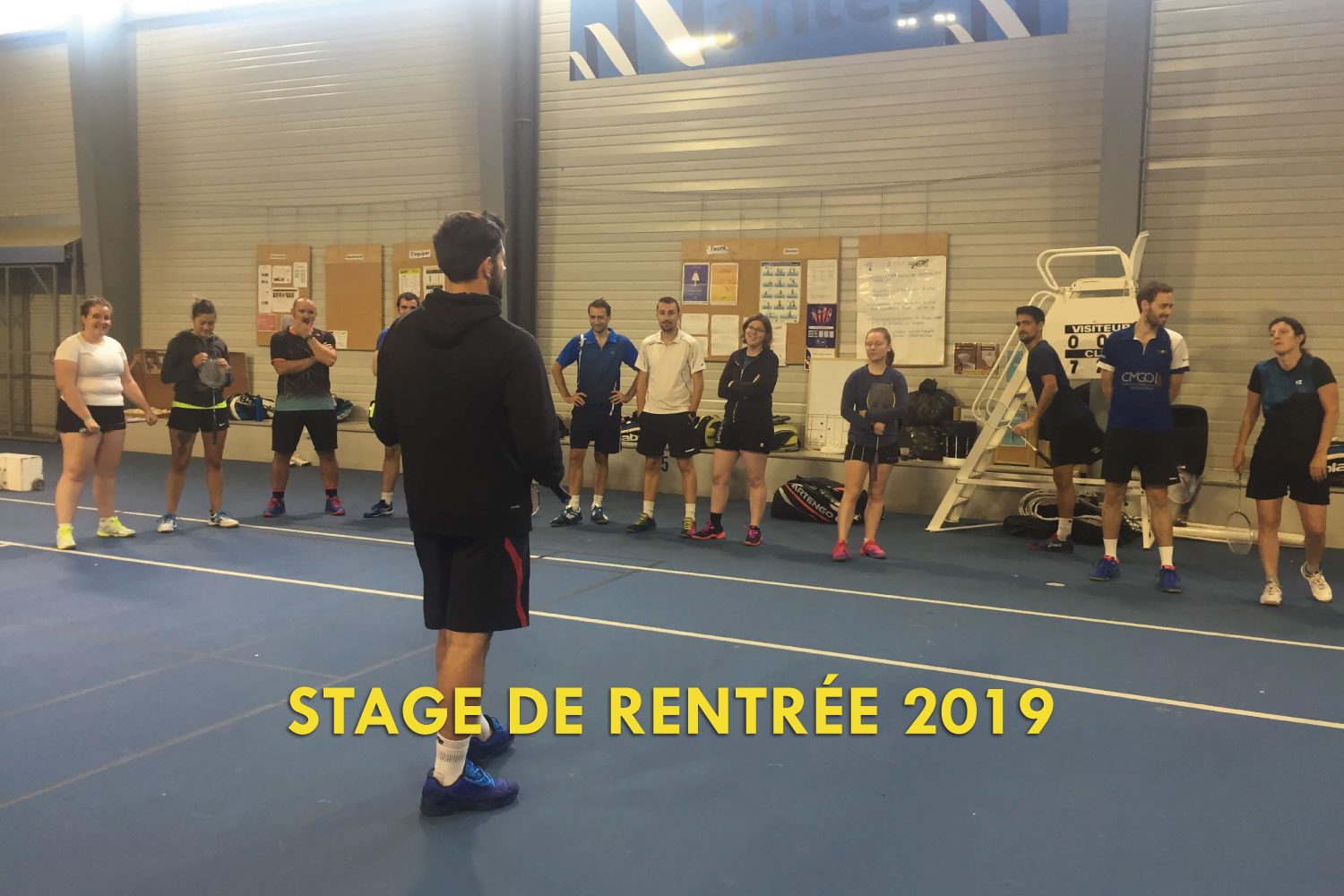 Stage de rentrée 2019 Don Bosco Badminton Nantes